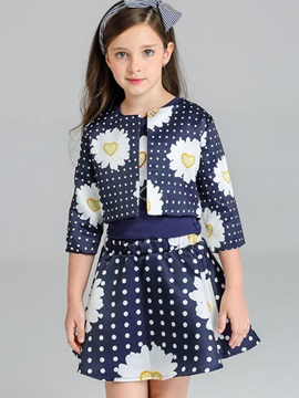 Chamomile Wave Point 2-Piece Outfit