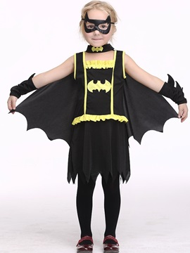 Halloween Batwoman Cosplay Cosplay Girls' Set