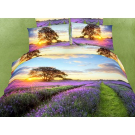Brilliant Fresh Scenery 4 Piece 3D Bedding Sets