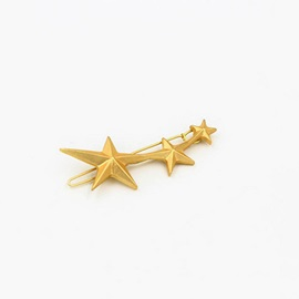 Simple Star Designed Solid Color Hairpin