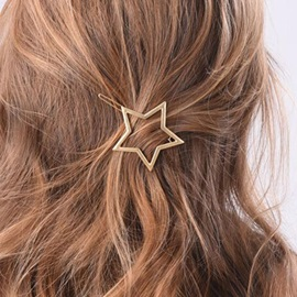 Beautiful Star Design Women Hairpin