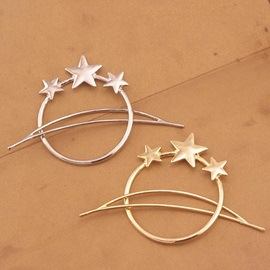 Alloy E-plating Stars Women Hairpin
