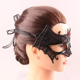 Black Vampire Bat Lace Costume Ball Halloween Party Masks