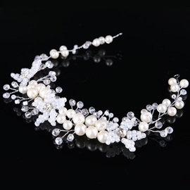 New Style Pearl Imitation Diamond Bride's Wedding Hair Accessories