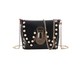 Popular Rivet Chain One-shoulder Women's Bag