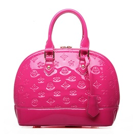 PU Embossing Women Shoulder Bag