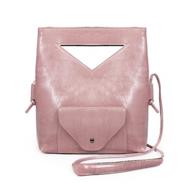 Waxy Leather Handle Offer Shoulder Bag