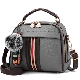 Korean Style  Design Soft PU Satchel