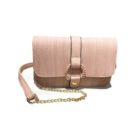 Casual Plain PU Women Crossbody Bag