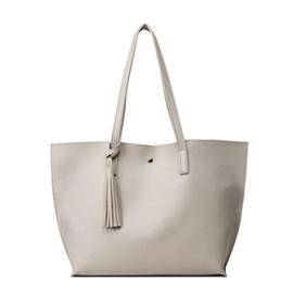 Huge Space Soft Plain Shoulder Bag