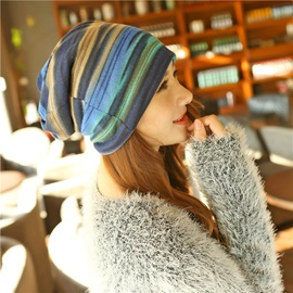 Graceful Stripe Pattern Women Scarf