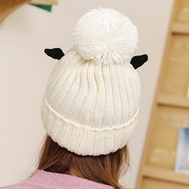 Cute Wings Design Women's Knitted Hat