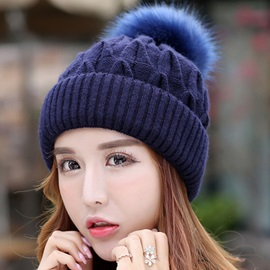 Lovely Thicken Women Knitted Hat