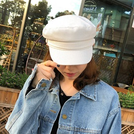 Linen Sewing Thread Military Hat Summer Hats