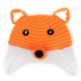 Fox Shaped Hand Knitting Baby