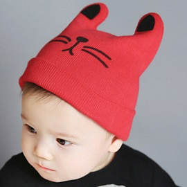 Kawaii Cartoon Design Baby's Hat