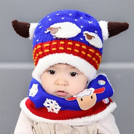 Warm Sheep Shaped Kid's Hat