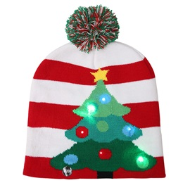 Cartoon Children Hat Christmas knitted Hat Autumn Winter Pullover Caps