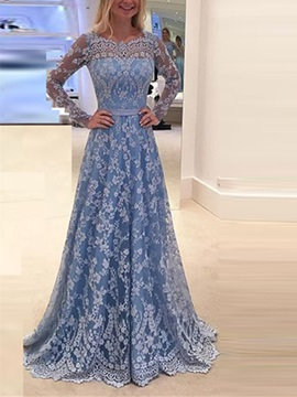 Vintage Jewel Mermaid Long Sleeves Appliques Lace Ruched Court Train Evening Dress
