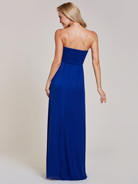 Sweetheart Beaded Pleats A Line Evening Dress