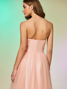 Sweetheart Beading Sleeveless A-Line Prom Dress