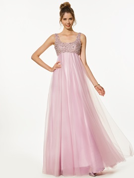 Charming A-Line Sweetheart Appliques Beading Split-Front Prom Dress & amazing Designer Dresses