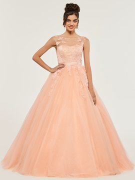Appliques Bateau Sashes Quinceanera Dress & Designer Dresses from china