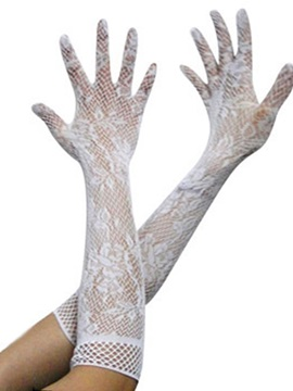 Sexy Accessories Lace Hollow Elasticity Gloves