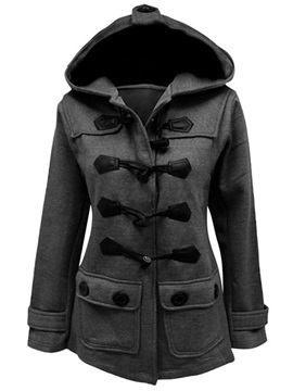 Splendid Oxhorn Button Trench Coat
