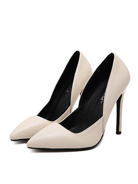 Elegant Pointed Toe Stiletto Heels