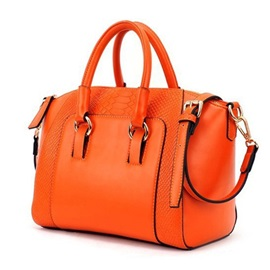 Stylish Snake Printed All-matched Retro Women Satchel