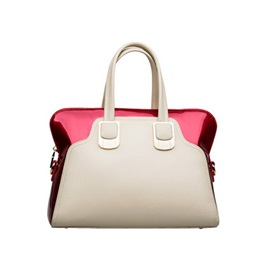 Glamorous Color Block Fashionable Euramerican Handy One-shoulder Women's Bag