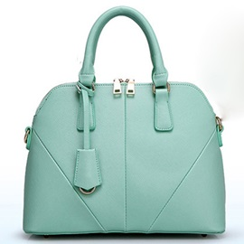 Patchwork Candy Color Hand Tops Satchel