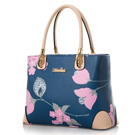 Plant Patten Women Satchel