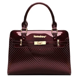 Embossing with Letters Women Satchel