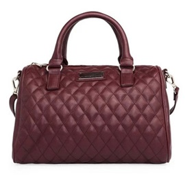 Quilted Lining Pillow Shape Women Satchel