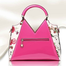 Top Quality Floral Printed Women's Handbag