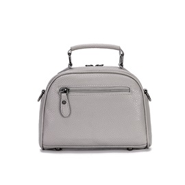Rotate Out Pocket Closed Zipper Satchel for Women