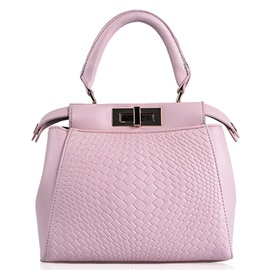 Gorgeous Knitted Handcee with Metal Latch Women's Satchel