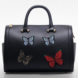 All Match Butterfly Embroidery Women Satchel
