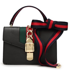 Casual Vintage Ribbon Decorated Women Satchel