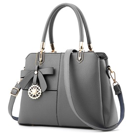 Ericdress Ladylike Pure Color Bowknot Women Satchel