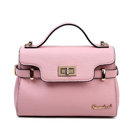 Vogue Lock Decorated Women Satchel