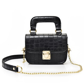 Korean Stone Pattern Women Satchel