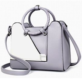 Vogue Color Block Women Satchel