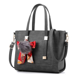 Fashion Silk Scarves Decoration Satchel
