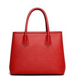 Huge Space Solid Color PU Handbag