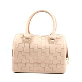 Casual Knitted Pattern Women Satchel