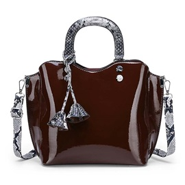 Serpentine Thread Fashion Handbag