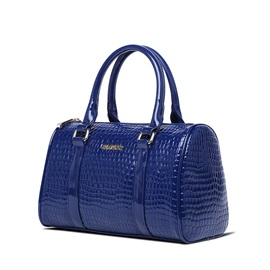 Classy Croco-embossed with Little Bags Women's Bag Set